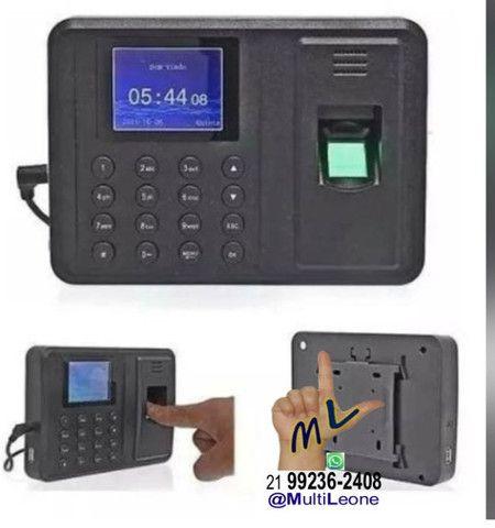 Relógio De Ponto Com Leitor Biométrico Impressão Digital - Foto 2