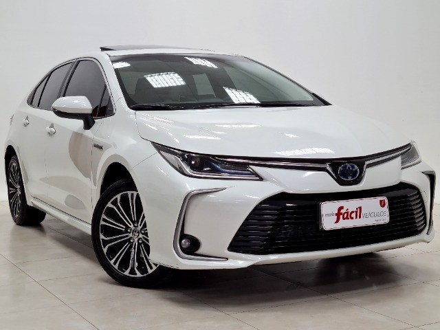 Corolla Altis Premium Hybrid 1.8 Flex Aut. | Apenas 10mil kms + Único dono! - Foto 3