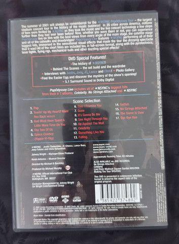 NSYNC - 2 CDs E 1 DVD - PERFEITO ESTADO - Foto 4