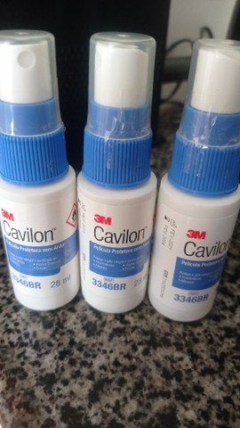 Cavilon spray para tratamento de escaras