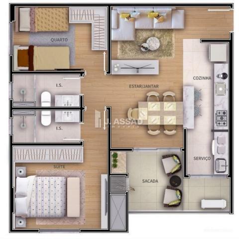 Apartamento à venda com 2 dormitórios em São francisco, Curitiba cod:AP0255 - Foto 8