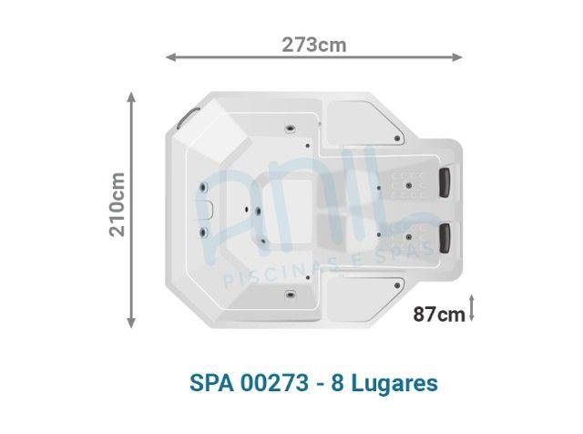L -SPA 8 lugares - Design exclusivo - Foto 4