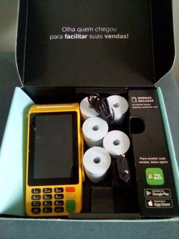 Máquina de cartão pág seguro