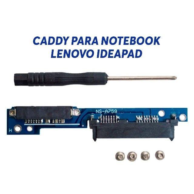 Caddy Notebook Lenovo Ideapad 110/310/312/320/330/510 até 12x no cartão