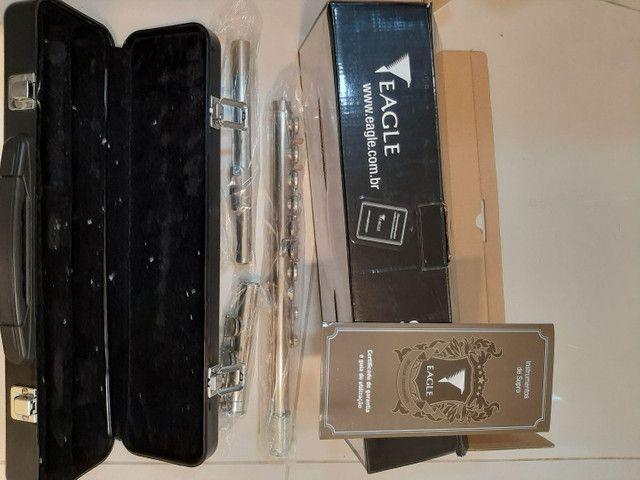 Flauta Transversal Eagle FL 03N - Foto 3