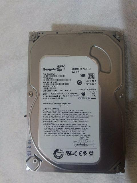 HD 500 Gb Sata Seagate