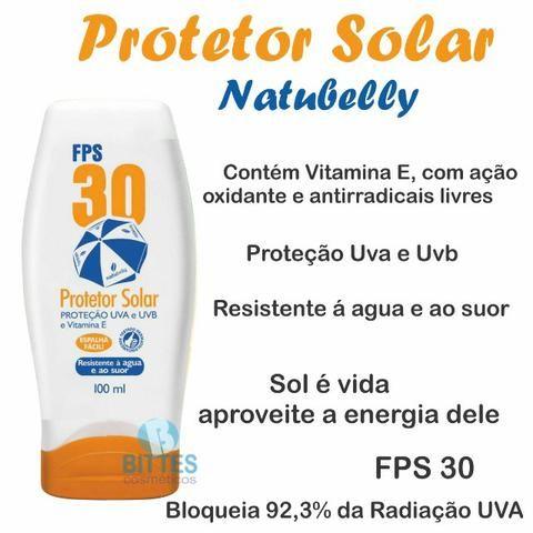 Protetor Solar Natubelly Cosméticos Fps 30 Proteção Uva - Foto 2