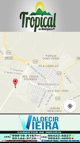 Lotes em Mandaguaçu entrada de 1.000,00 e parcelas de 540,00 liberado para duas casas - Foto 2