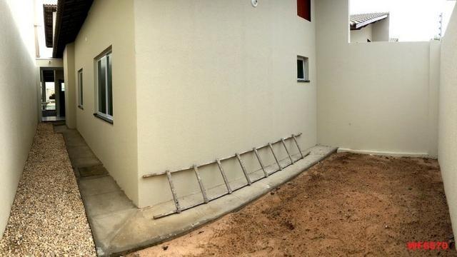 Casa plana na Sapiranga, 3 suítes, 2 vagas, casa nova, Próx Edilson Brasil Soares - Foto 11