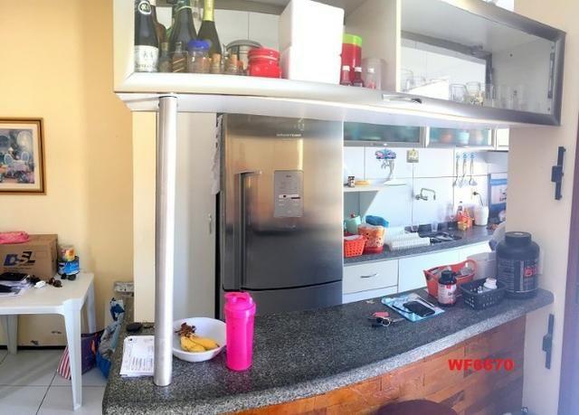 Casa plana no Castelão, 3 quartos, 6 vagas, deck com churrasqueira, - Foto 4