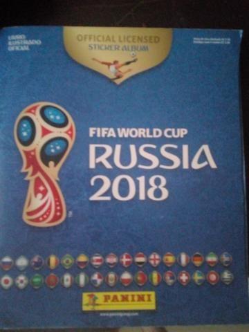 Album da Copa do Mundo Rússia 2018 Completo