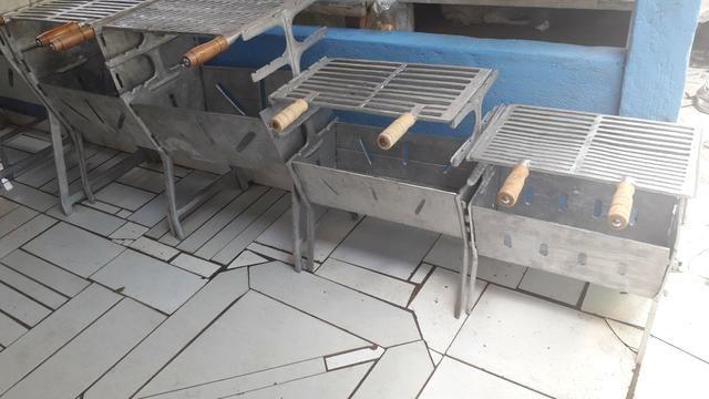 Churrasqueiras de alumínio FUNDIDO
