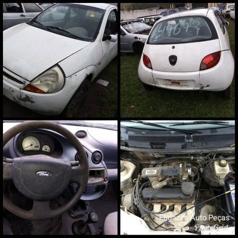 Ford Ka 1.0 Endura 1998 Sucata Em Peças e Acessorios