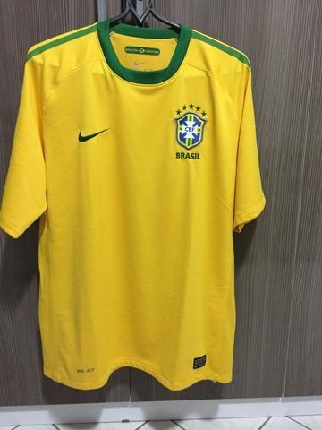 7c9b0fb903689 Camisa Torcedor Da Seleção Brasileira De Futebol - Roupas e calçados ...