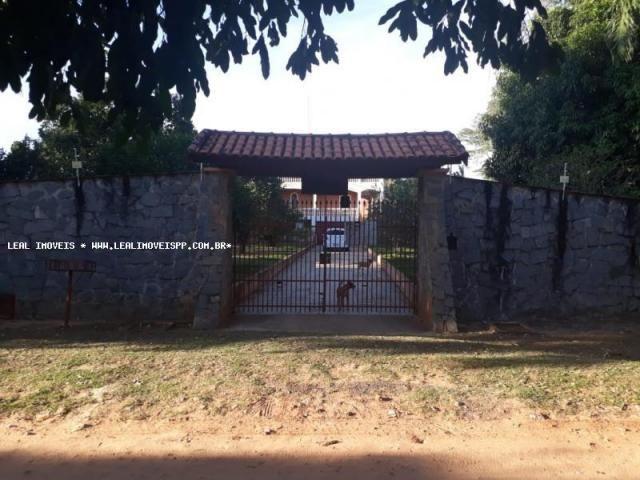Chácara para Venda em Álvares Machado, Chacara Artur Boygues, 3 dormitórios, 1 suíte, 1 ba