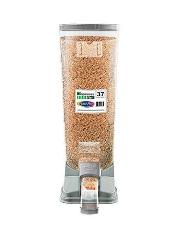 Porta Ração Dispenser Para 37 Litros - Plast pet