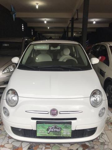 Fiat 500 2012 é na talismã Veiculos
