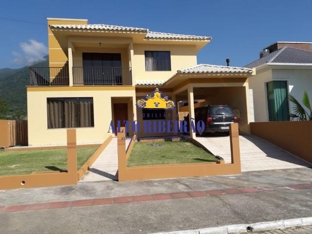 1616 - Casa de praia linda na Praia de Fora - Palhoça - Casa de condomínio