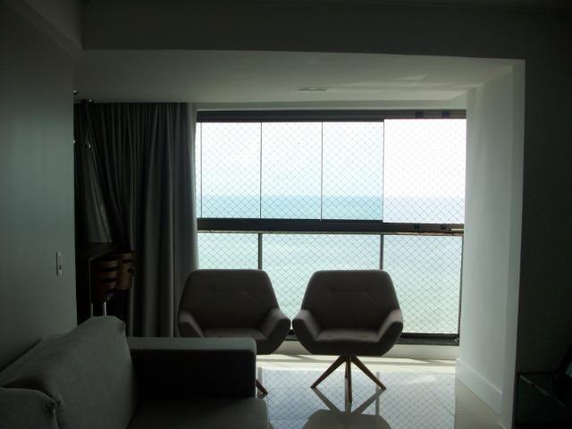 KM-No melhor trecho de praia de Piedade, apt* vista definida para o mar,3suítes 120m2 - Foto 12