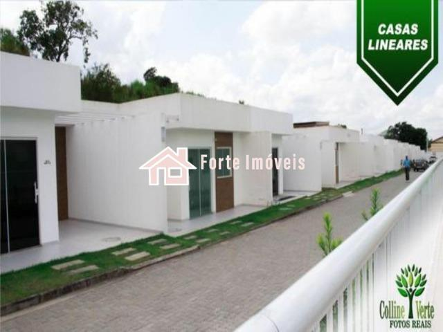 IF719 Excelente Casa Linear Em Condomínio Colina Verte - Campo Grande RJ