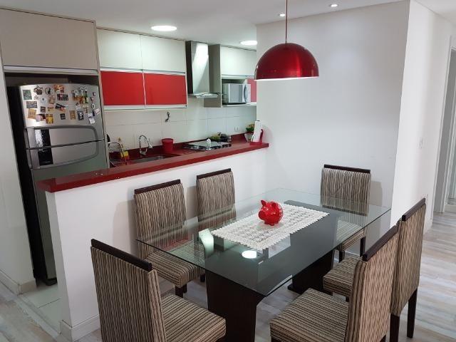 Apartamento com 3 dormitórios à venda, 69 m² por R$ 420.000 - Capão Raso - Curitiba/PR - Foto 2