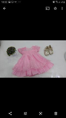 Vestido Festa Infantil Tam 1 - Foto 2