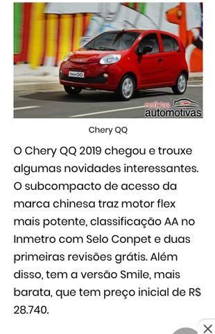 CHERRY QQ 2019 zero km - Foto 9