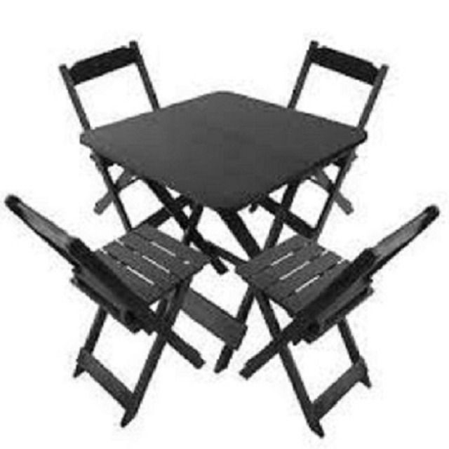 Mesas e Cadeiras Dobráveis Direto da Fábrica - Foto 3