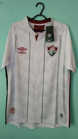 Camisa do Fluminense Branca Masculina 2020/21