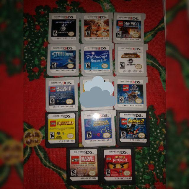 Coleção com 20 Jogos Impecáveis 3DS/DS -Sem juros - Kit Pack Lote - Foto 3