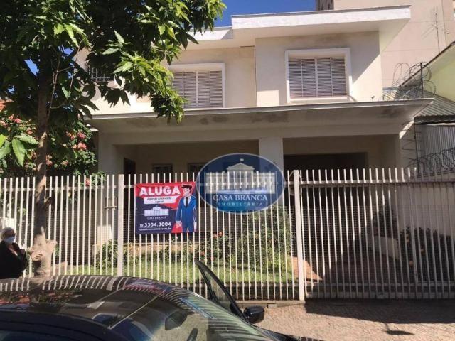 Casa para alugar, 270 m² por R$ 5.000,00/mês - Centro - Araçatuba/SP