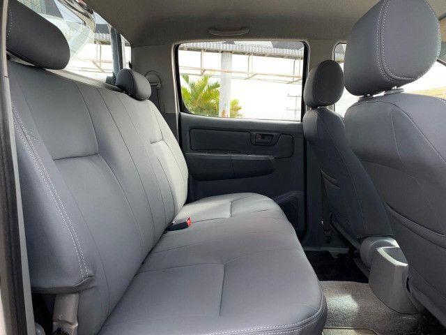 Toyota Hilux Cab Dupla 2.5 4x4 2008 Mecanica Super Economica - Foto 12