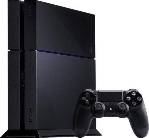 PlayStation 4 Fat 500Gb + 2Controles Ps4 - Semi novo