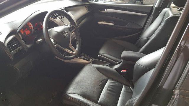 Honda City 1.5 automático EXL completíssimo, impecavel - Foto 6