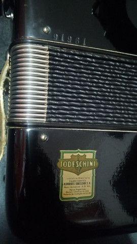 Acordeon todeschini super 5 preta vendo   - Foto 3