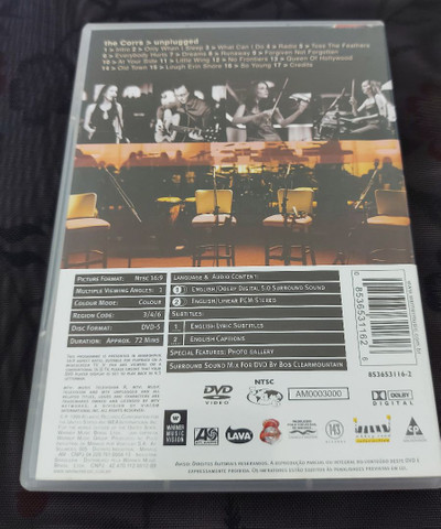 Combo The Corrs unplugged: Cd e dvd - Foto 4