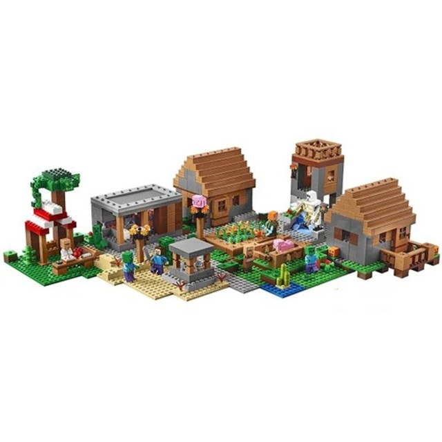 Lego - Blocos de Montar Vila Minecraft - 838 Peças - Foto 3