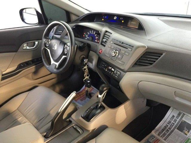 """Civic Sedan LXR 2.0 Flexone 16V Aut. """"Carro Impecável-Pneus Novos"""" - Foto 11"""