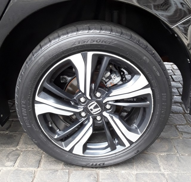 Honda Civic EXL 2.0 Preto - Foto 9