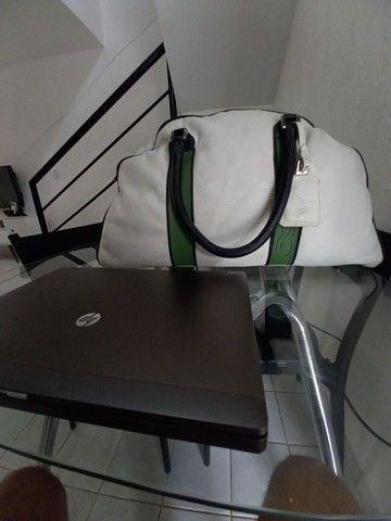 Bolsa para viagem de Couro Osklen - Foto 3