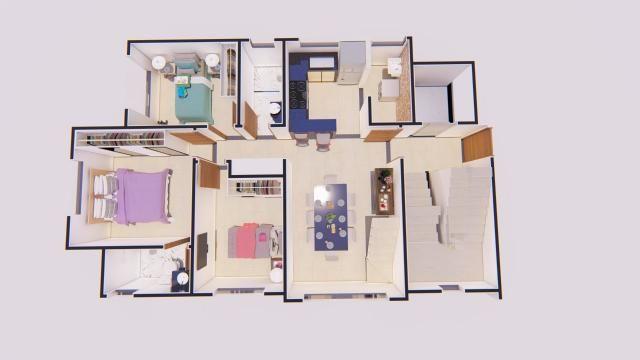 Apartamento à venda com 3 dormitórios em Castelo, Belo horizonte cod:ATC4272 - Foto 9