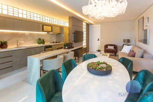 Apartamento com 2 dormitórios à venda por R$ 780.700,00 - Mercês - Curitiba/PR - Foto 5