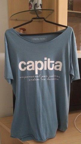 Bazar x Camiseta Masculina x Original x M, G e GG - Foto 2