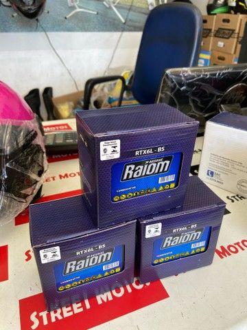 Bateria fan titan factor Xre300 raiom entrega todo Rio  - Foto 2