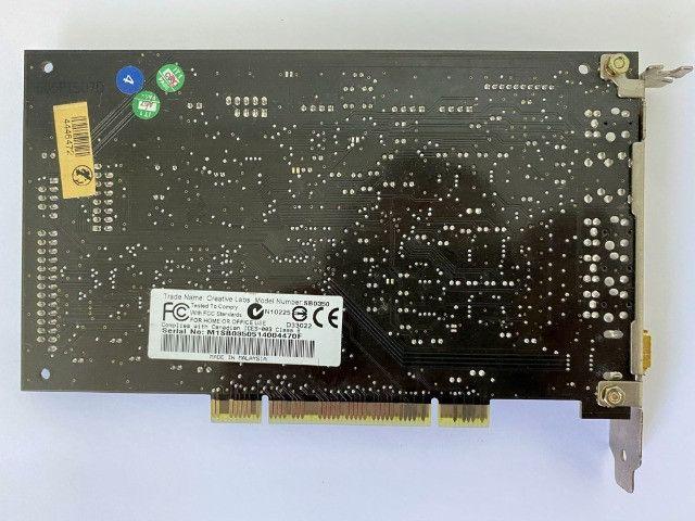Placa De Som Creative Sound Blaster Audigy2 Zs Sb0350 - Foto 3