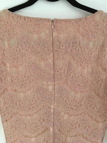 Vestido renda rosê - Foto 2