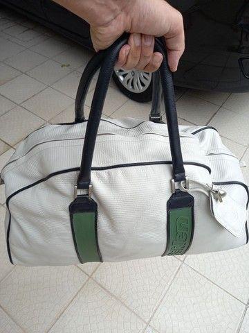 Bolsa para viagem de Couro Osklen - Foto 2