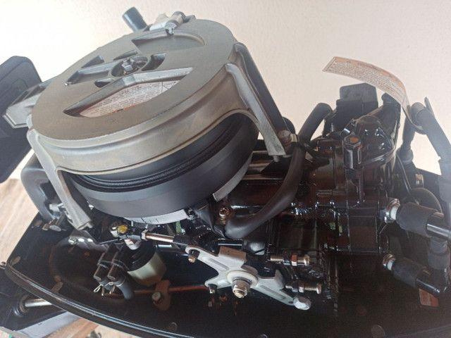Motor Popa Nissan Marine 18 HP. - Foto 5