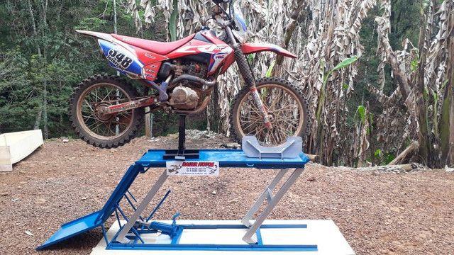 Elevador para motos 350kg ZAP 24 horas fábrica  - Foto 7