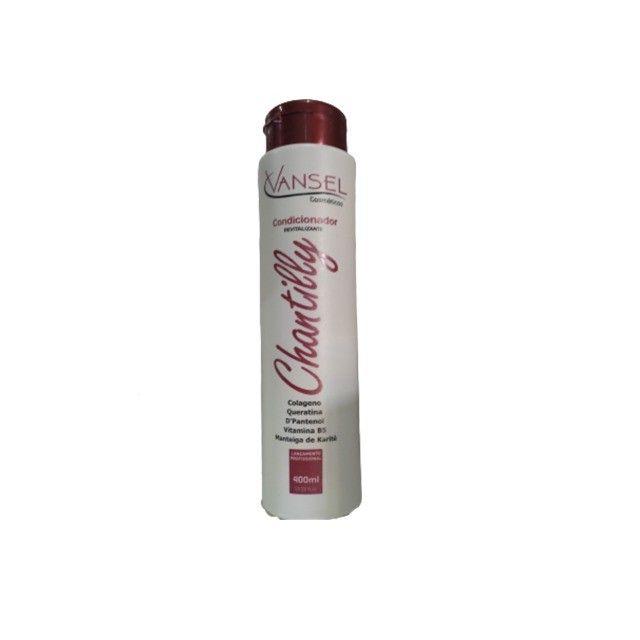 Kit de Tratamento Capilar de Chantilly com Shampoo Condicionador e Máscara de Hidratação - Foto 2